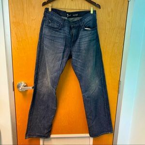 7 FOR ALL MANKIND Jeans Austyn Sz 34 100% cotton